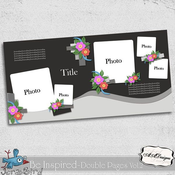 Be Inspired - Double Pages Vol.2 by AADesigns