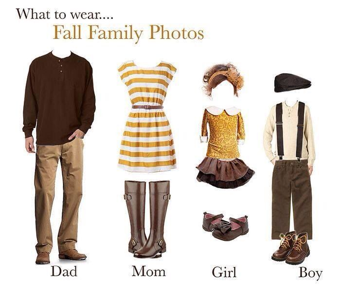 Fall photography session outfit ideas