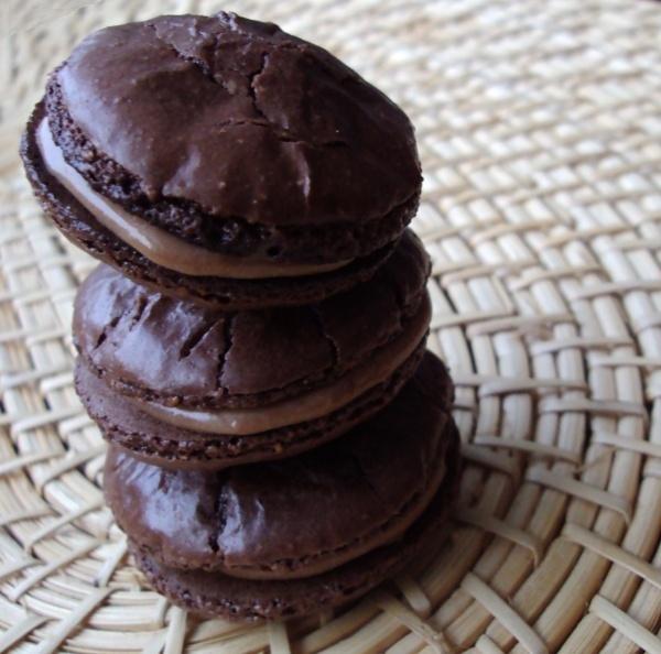 Macarons : 100% Choco