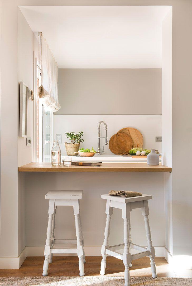 дом с солнечным настроением в окрестностях барселоны фото идеи дизайн Kitchen Remodel Small Kitchen Remodel Layout Kitchen Remodel