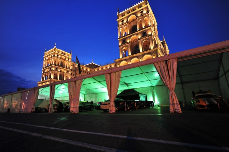 Baku at night