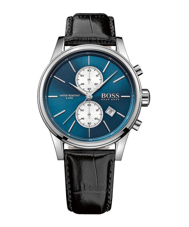43 % off - Hugo Boss Jet blue dial leather watch, Designer  Sale, Outlet, SECRETSALES