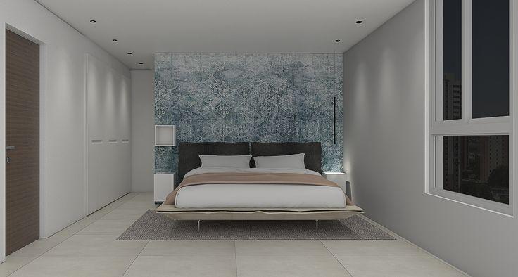 Interior Design | Wallpaper Bedroom | Casa Magna 18, MAT Latinamerica