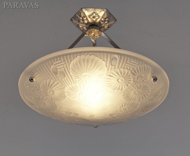 81 best images about French art deco ceiling lights with bowl
