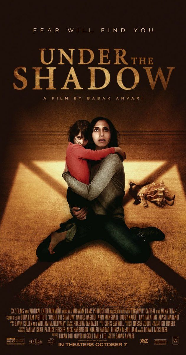 Directed by Babak Anvari.  With Narges Rashidi, Avin Manshadi, Bobby Naderi, Ray Haratian. As a mother and daughter struggle to cope with the terrors of the post-revolution, war-torn Tehran of the 1980s, a mysterious evil begins to haunt their home.