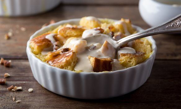 Bread Pudding - an old #Amish recipe. #AmishRecipes http://www.amishgazebos.com/amish-cooking/