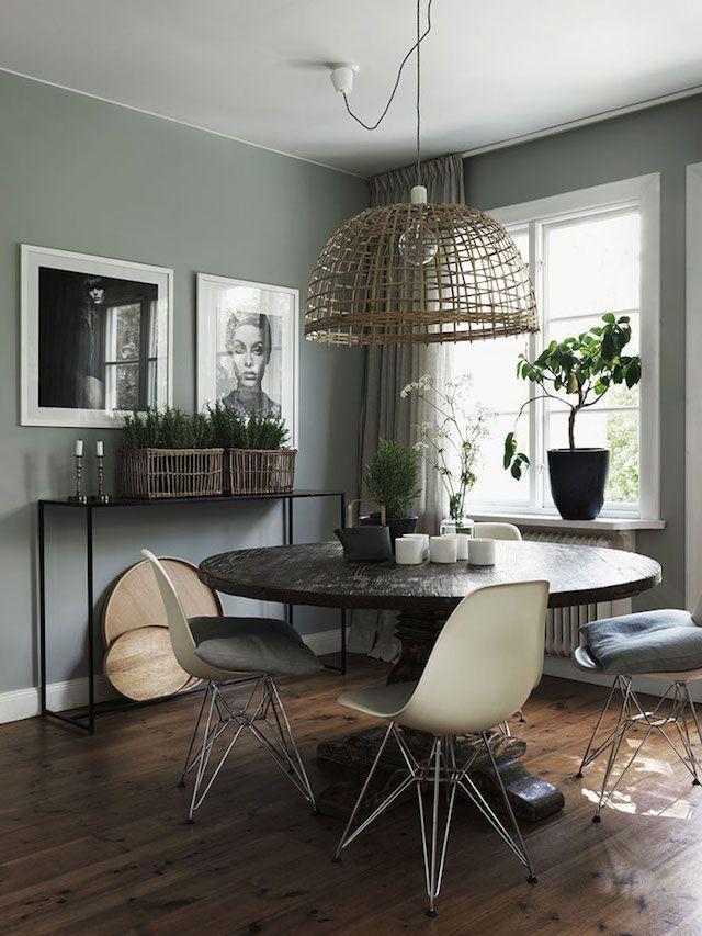 Image Result For Sage Green Dining Room