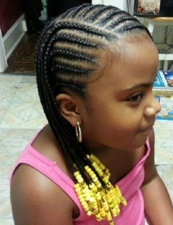 Braids With Beads For Little Girl Braids For Kids