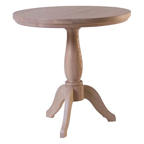Buy Neptune Henley 60cm Pedestal Side Table, Oak Online at johnlewis.com