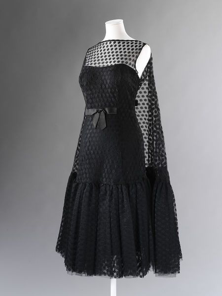 Cocktail dress by Galitzine, 1955 | Victoria and Albert Museum #Vintage #Fashion