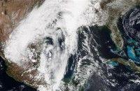 Hujan Lebat Negara Bagian Selatan AS Dilanda Banjir