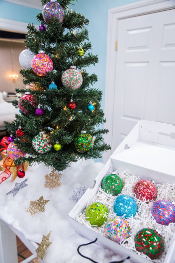 Tanya Memme's DIY Sprinkle Ornaments | Home & Family | Hallmark Channel