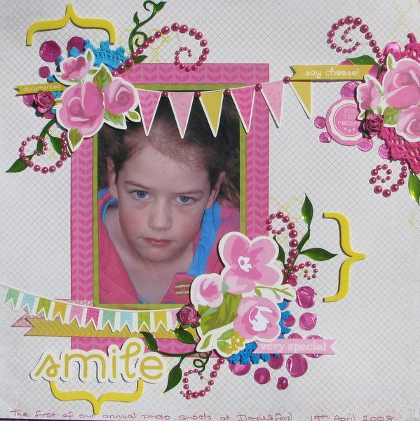 Created by Judith Armstrong using Flourish With a Bling and Kaisercraft Confetti