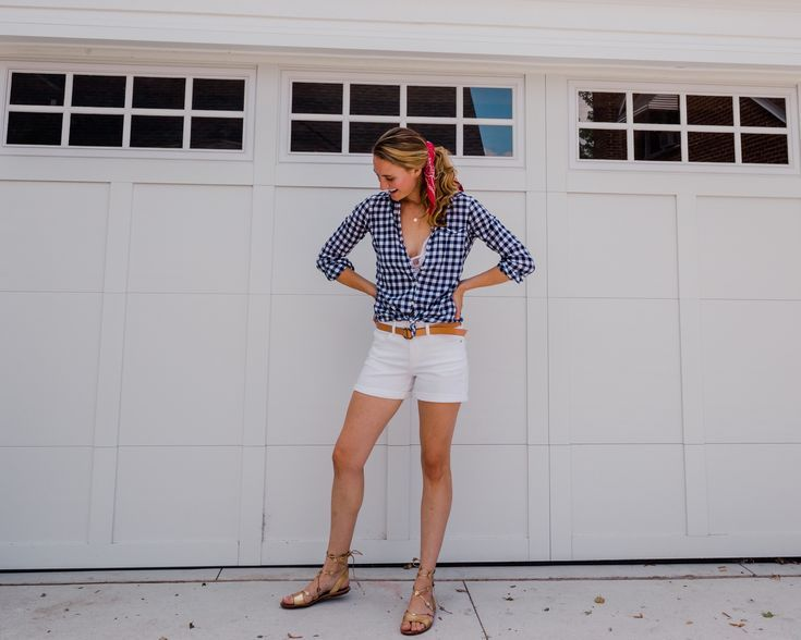 eight Cute All-American Outfits To Put on Past The 4th Of July