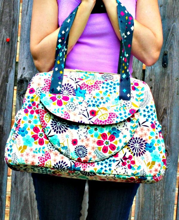 The Aragon Carry-All Bag - PDF Sewing Pattern | How to Prevent Puckering With Your Sewing Machine
