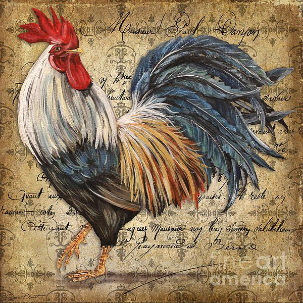 I uploaded new artwork to plout-gallery.artistwebsites.com! - 'Rustic Rooster-jp2119' - http://plout-gallery.artistwebsites.com/featured/rustic-rooster-jp2119-jean-plout.html via @fineartamerica