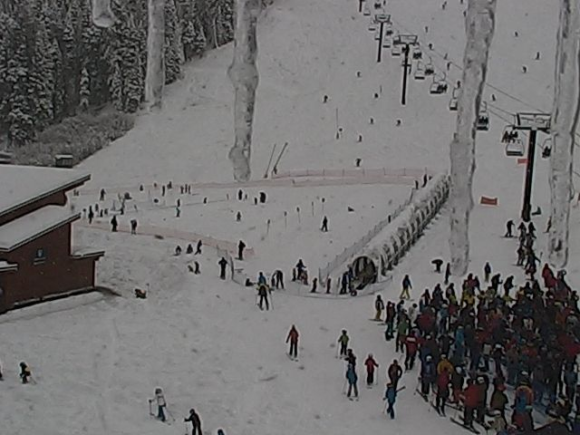 Lake Tahoe Live Cam | Tahoe Webcams | Squaw Alpine. Crazy snow weather.