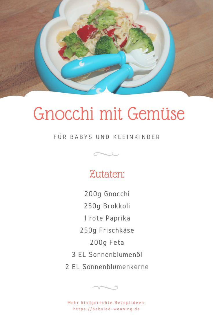 Rezept: Gnocchi mit Gemüse   – Babyled-Weaning.de Rezepte