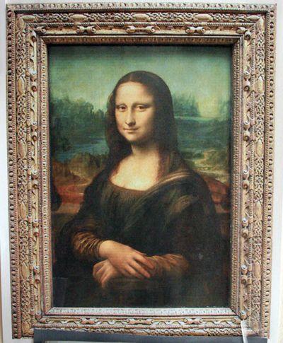 Mona Lisa Style Self Portraits