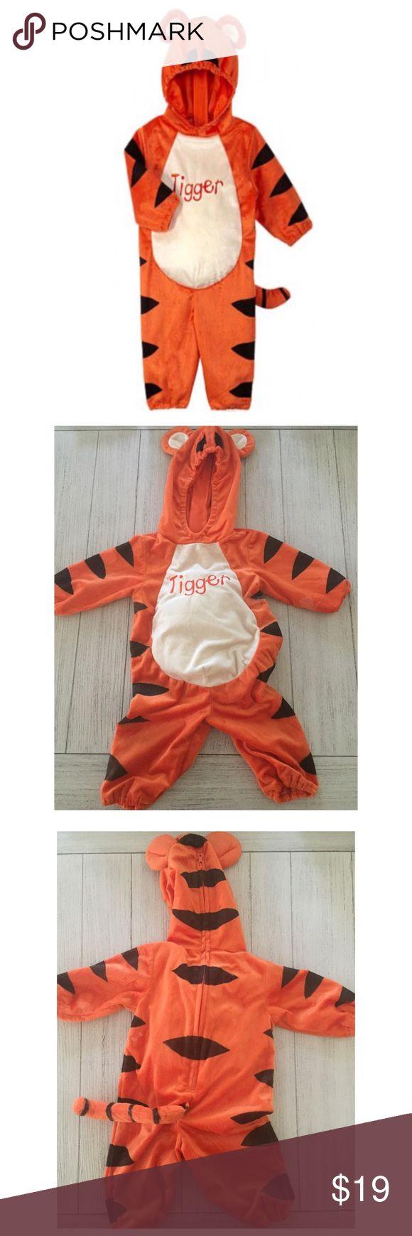 Plush Baby Tigger Costume Disney Baby 9M Plush Tigger Costume Disney Costumes Halloween