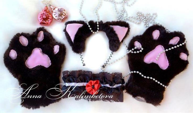 Карнавальные костюмы кошачьи ушки