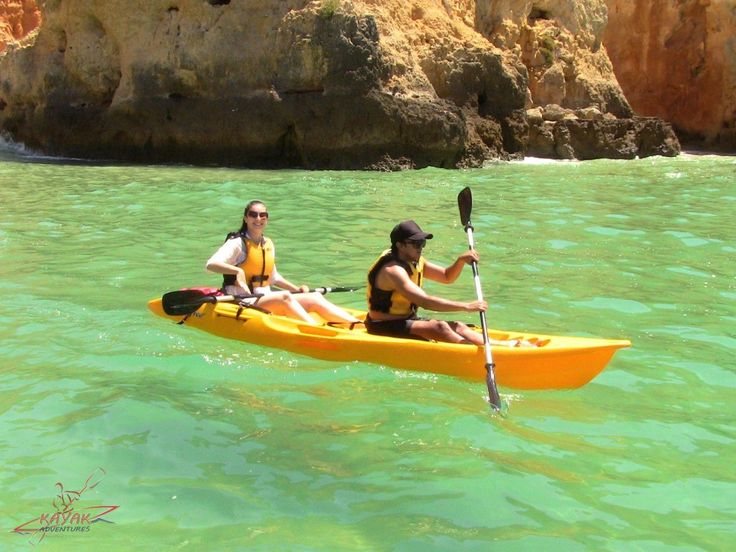The Kayak Sunset Trip shows you the best caves and arches of Ponte de Piedade from Lagos. We do take a break on a small beach and than tow you back.