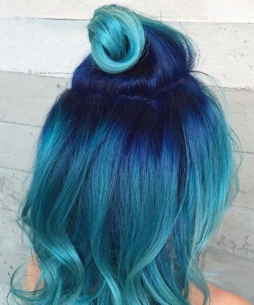 50 refreshing Teal hair color ideas