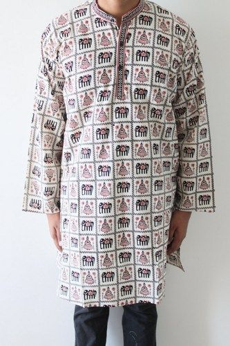 Elegant Rajasthani Men Kurta with printed concept