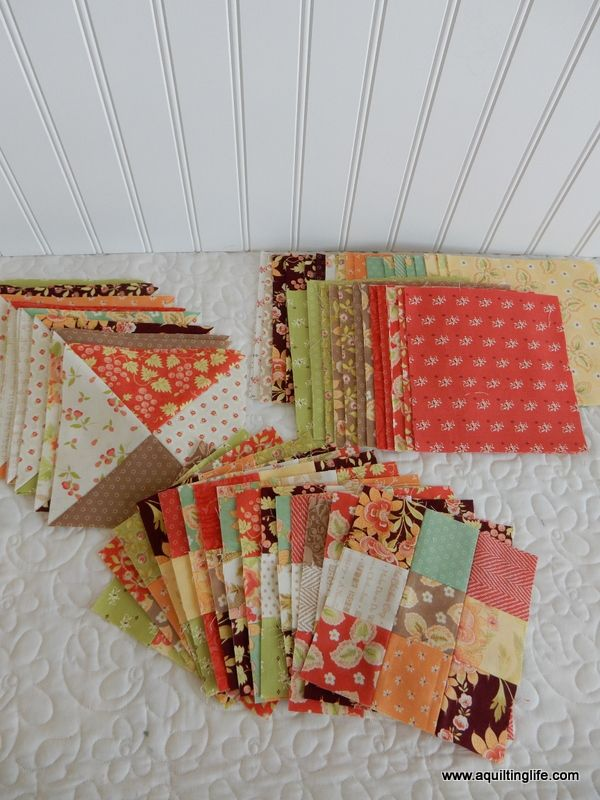 Scrappy Quilt Sew Along Part 3 | A Quilting Life - a quilt blog