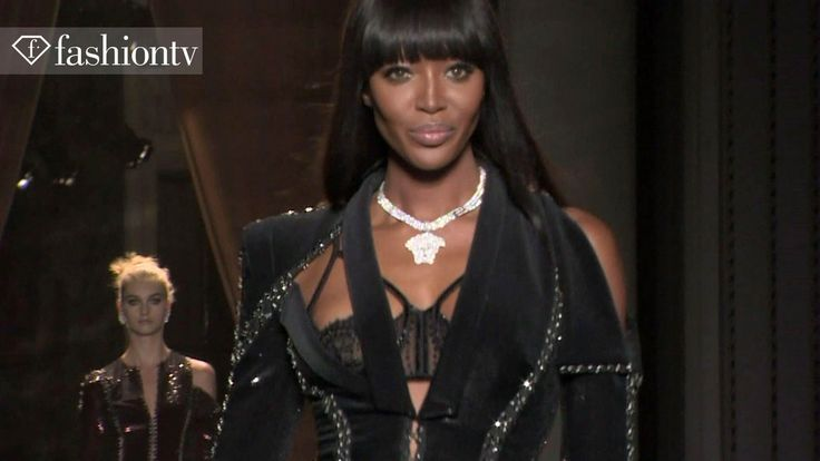 Atelier Versace Fall/Winter 2013-14 ft Naomi Campbell | Paris Couture Fa...