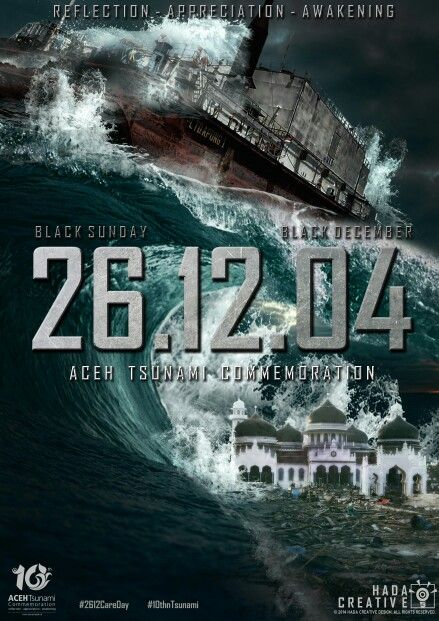 26.12.04 Black Sunday, 10 Years Tsunami Aceh