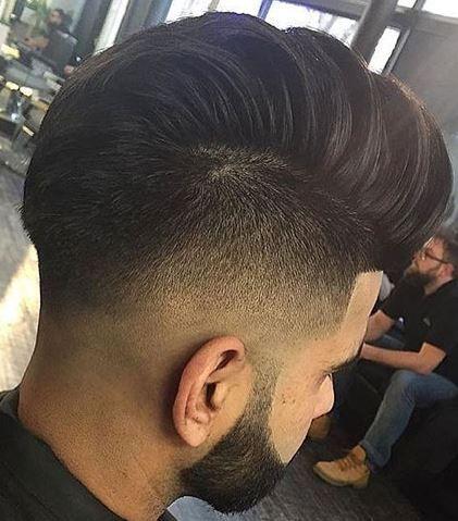 10 beautiful male hairstyles Undercut + Mohawk + Edge Up