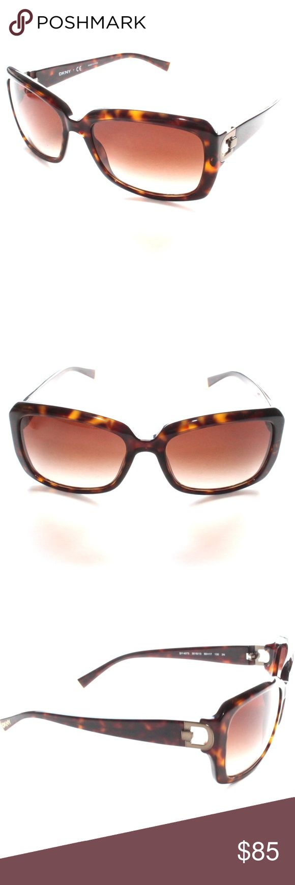 DKNY DY DY 4073 3016 Dark Tortoise RX Sunglasses Brand New 100% authentic DKNY DY DY 4073 3016 Dark Tortoise RX Sunglasses  Comes with Generic Case, NO Pouch DKNY Accessories Sunglasses