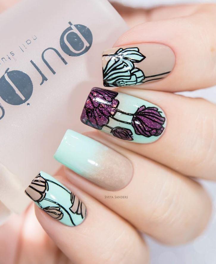 94 best Fun Nail Arts images on Pinterest | Nail art, Beleza and ...