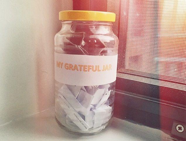 jarra da gratitude - ambiente vistoriado