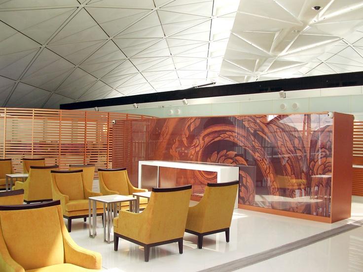ThaiAirways AirportLounge at Hong Kong International
