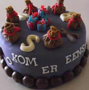 Sinterklaas taart Oh, kom er eens kijken
