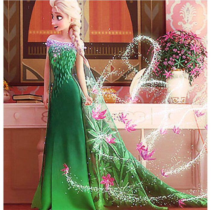 Resultado de imagem para vestido da elsa frozen