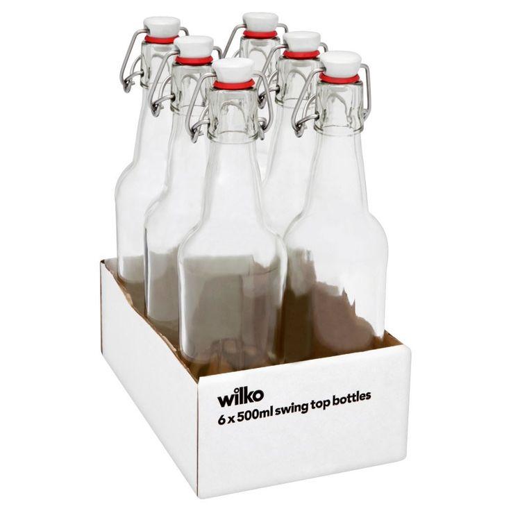 swing top bottles 500ml 6pk gift ideas swing top gin. Black Bedroom Furniture Sets. Home Design Ideas