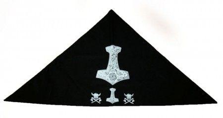 Háromszögű Thor kalapács kendő - kerchief