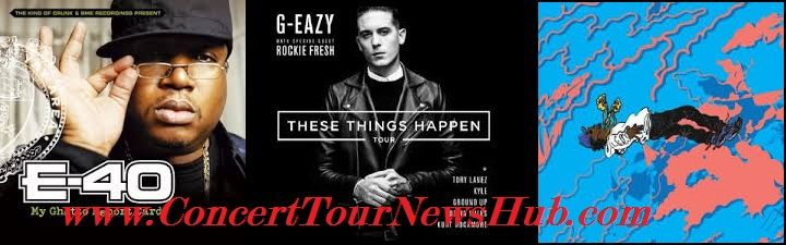 G-Eazy Concert News: 2014 From The Bay To The Universe Tour Schedule & Concert Tickets with E-40, IAMSU! And Jay Ant