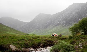 Glen Sannox. Wild Guide Scotland. A guide to the best campsites in Scotland.