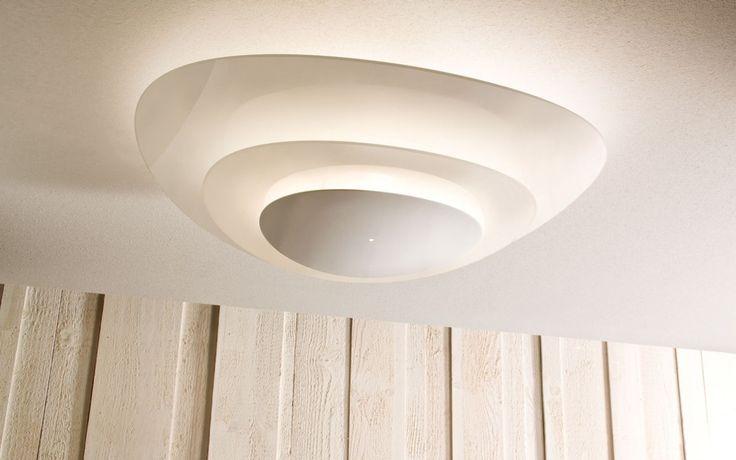 Designer Deckenlampe Plana von Murano Luce