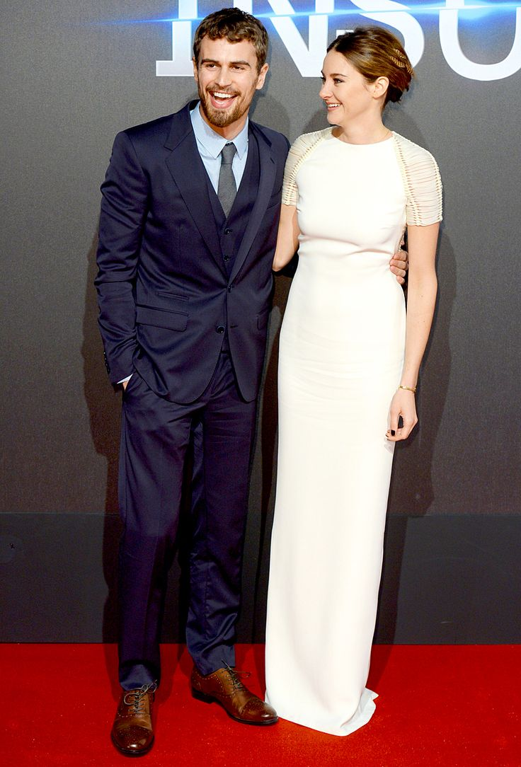Theo James and Shailene Woodley on the Insurgent World Premiere Red Carpet in London! | #Insurgent #movie