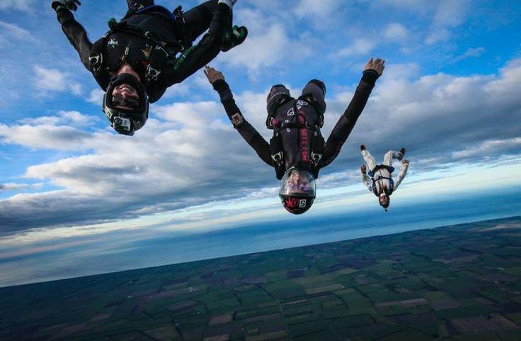 Skydiving Wedding in New Zealand