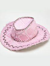 Фиолетовый имитация кожи ковбойские шляпы