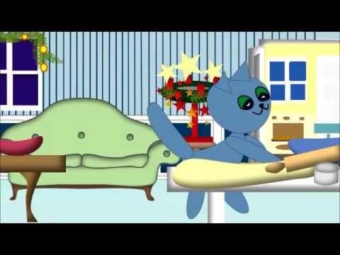 Kinderlied : VORFREUDE, SCHÖNSTE FREUDE - Freude im Advent, Zeichentrick mit Kätzchen Molli Miez