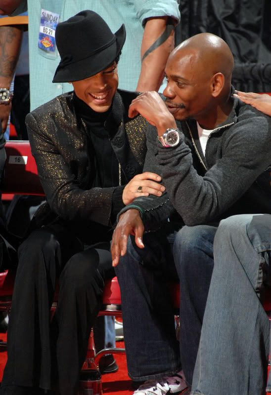 Prince & Dave Chapelle. That might be a little awkward after Dave's spoofs. lol.