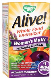 Alive!Women'S Multivitamin & Mineral by Nature's Way - Buy Alive!Women'S Multivitamin & Mineral 90 Tablets at the Vitamin Shoppe