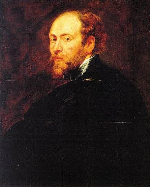 Автопортрет Рубенса, 1628./ Фото: www.rybens.ru